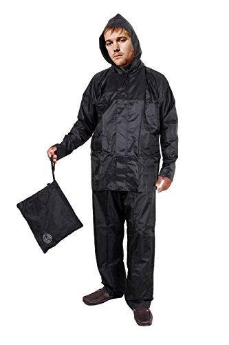 Hindustan Industries Duckback Men's Polyester Rain Suit 41l7nAVnO0L