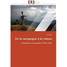 De la campagne à la nature