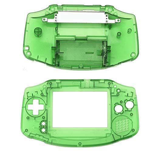 ASHATA Gba Gehäuse, Ersatz Gehäuse Shell Pack Vollständige Teile Ersatz Zubehör Shell Case,Ersatzteile Reparatur Ersatz Abdeckung Kit für Nintendo GBA Gameboy Advance(Grün)