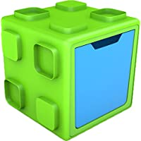 Chill AFish Box: Connectable Toy Storage and Play System, Lime/Blue by Chill AFish