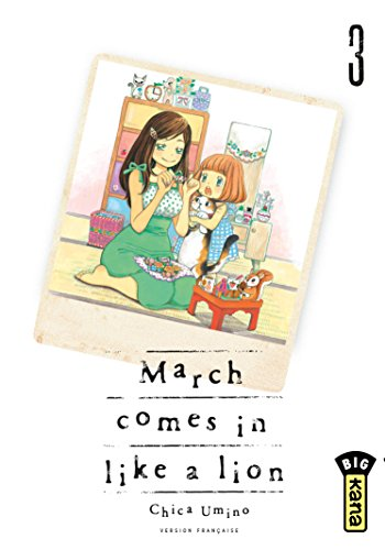 March comes in like a lion Edition simple Tome 3