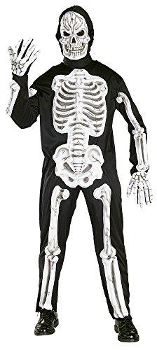 Rubie's Costume Carnevale Halloween Scheletro In Plastica Eva – Orrore Uomo Standard
