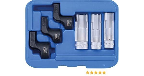 BGS Spezial-Schlüssel für Abgastemperatursensor SW 19 mm für VAG 3-tlg.