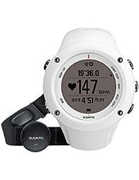 Suunto Ambit2 R Unisex-Armbanduhr 50mm Armband Kautschuk Weiß Gehäuse Plastik Batterie SS020658000