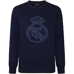 Real Madrid - Sudadera oficial para niño - Con el escudo del club - 12 años