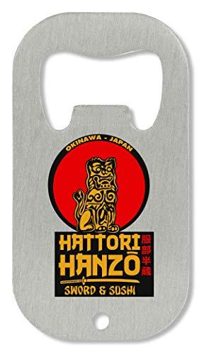 BakoIsland Hattori Hanzo Swords Sushi Logo Flaschenöffner -