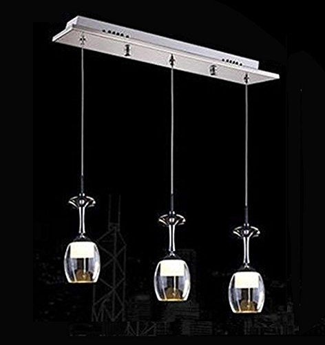 DIAOXDENG Modern-Simple-Creative-Glas-Kristall-Romantik-Restaurant-Bar - Schlafzimmer -...