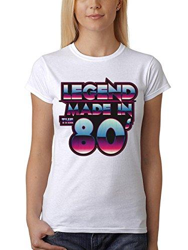 rt Fit Legend Made in the 80s Weiß Gr. M (Legend Kostüme)