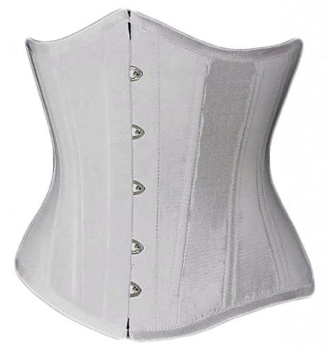 Sanduhr Taillenkorsett (Alivila. Y Fashion Frauen Korsett Sexy Unterbrust Korsett Taillenkorsett Training Gr. Small, weiß)