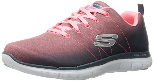 Skechers Women's Flex Appeal 2.0 Multisport Outdoor Shoes, Grey (Cccl), 3.5 UK 36 1/2 EU
