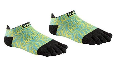 Injinji Run Coolmax Xtra Lightweight No Show Socks Women fern Spectrum Schuhgröße XS/S | EU 35-40 2018 Laufsocken