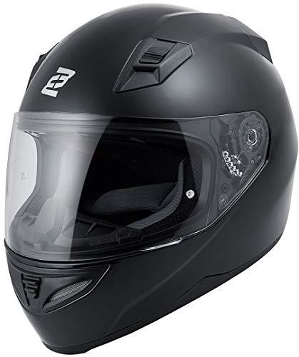 Bogotto FF391 Motorradhelm Schwarz XXL