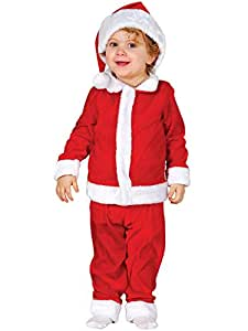 Sage Square Boys Santa Claus Christmas Fancy Dress Outfit, Kids (2-4 Year)