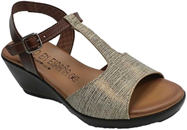 Sandalo da Donna Donna Donna Confortevole in Gel Togar Vari Coloreei   Raccomandazione popolare  c7c29e