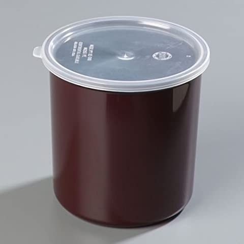 Brown Heavy Weight Classic Crock with Lid 2.7 Quart -- 1 each by Carlisle