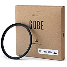 Gobe - Filtro Ultravioletto Multiresistente Rivestito a 16 Strati UV 67mm Japan Optics