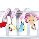 Winwinfly Baby Krippe Mobile Ornament Hangings Rassel Plüschtier Kinderwagen Spielzeug (Stil 2)