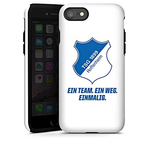 Apple iPhone 5c Hülle Case Handyhülle TSG Hoffenheim Fanartikel Fussball Tough Case glänzend