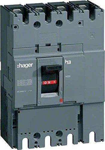 HAGER H630 - INTERRUPTOR MANIOBRA SECCIONADOR H630 4 POLOS 630A
