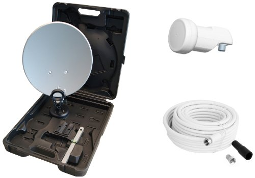Opticum - Maletín sistema satélite camping antena