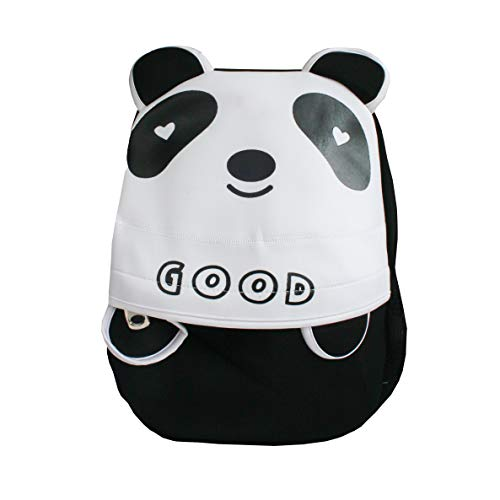 Emartbuy Bambini Carina Intelligente Zaino Scuola Asilo nido Borsa da Viaggio - Panda Nero