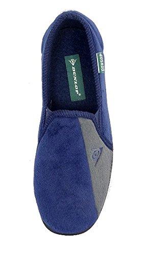 Einlegesohlen Herren Komfortabel Super Hausschuhe Marineblau Gepolsterten grau Dunlop Mit Winston Ii 8UxA8Yqr