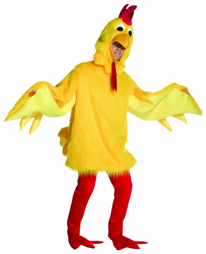 Rasta Imposta 6508 Gelbes flauschiges Hühner-Kostüm (Einheitsgröße)