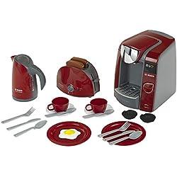 Klein - 9541 - Jeu d'imitation - Set petit-déjeuner Bosch avec machine à expresso Tassimo