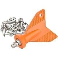 Spikes 6 mm Nägel für Leichtathletik 14 Stück incl. Schlüssel LAUFSTOFF (Farbe sortiert)