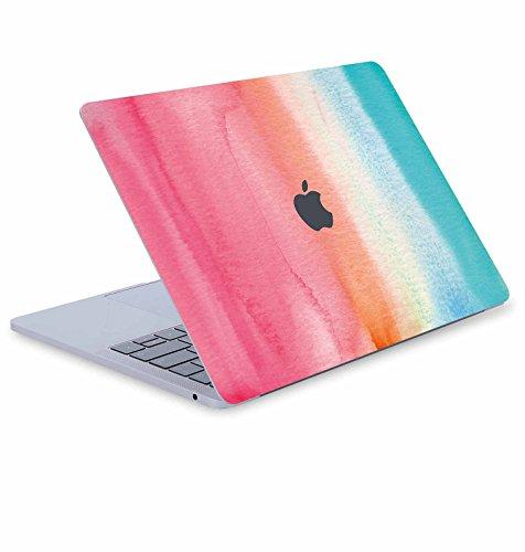 Digi-Tatoo MacBook Vinyl Haut Aufkleber Aufkleber für MacBook Air Pro Retina 33cm/38,1cm Schutz , Abnehmbarer und kratzfestem Laptop Haut Rainbow Land Old Pro 13