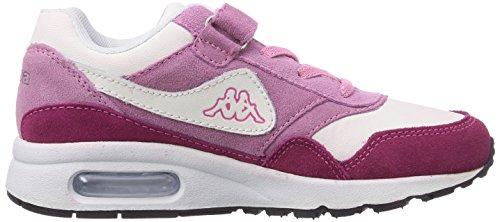 Kappa Konfekt K Footwear Kids, Baskets Basses mixte enfant Rose - Pink (2221 pink/rosé)