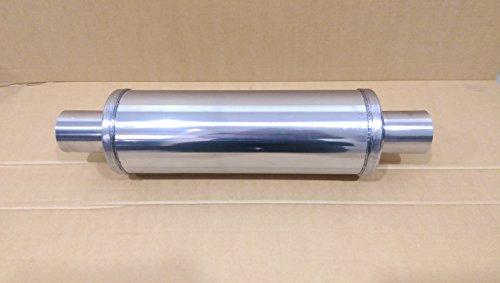 6,3x 35,6x 10,2cm [63,5x 355mm x 102mm] Universal-Auspuff Schalldämpfer Resonator Schalldämpfer