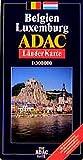 ADAC Karte, Belgien, Luxemburg, Straßenkarte (ADAC Länderkarten) -