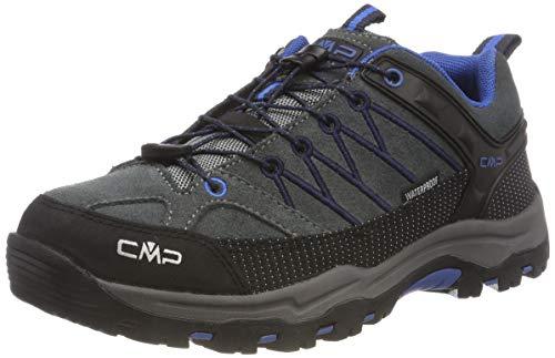 CMP Unisex-Erwachsene Rigel Low Trekking-& Wanderhalbschuhe, Grau (Grey-Zaffiro 52ak), 39 EU