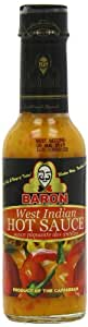Baron Wi Hot Sauce 155 g (Pack of 6)
