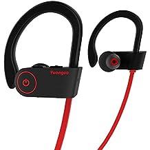 Auriculares Bluetooth HolyHigh Yuanguo2 Auriculares inalámbricos Deportivos Casco Mini Inalámbrico Estéreo con Micrófono Incorporado ...