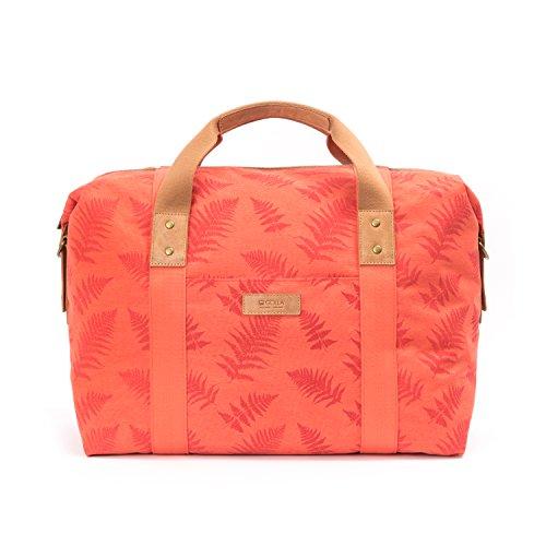 Golla Siru Sporttasche aus 100% Polyester Weekender Overnighter Handgepäck Sporttasche Reisetasche Berry Rot G1984