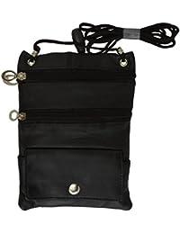 Hidden–Cartera de viaje pasaporte soporte seguridad–cuello Stash bolsa de cinturón