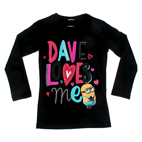 'Dave Loves Me' Size 104 (Kleines Mädchen In Despicable Me)