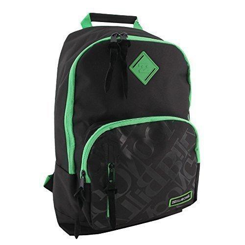 Billabong zaino/ borsa per laptop messenger zaino per scuola e viaggio - Misure: in cm: H 43x L 35x P 15 cm, poliestere, Poison