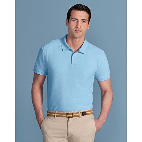Gildan Softsyle Herren Kurzarm Doppel Pique Polo Shirt Sand
