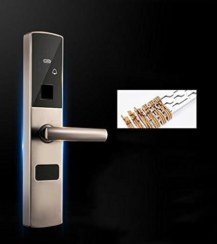 MS Intelligente Fingerabdruck Lock Home Fingerabdruck Passwort des Kartenlesers Security Door Lock Door Lock Anti–Diebstahl LOCK Elektronisches Schloss (Encrypted Disk-)