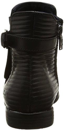 Tom Tailor 8590603, Bottes Chelsea femme Noir (Black)