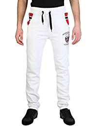 Geographical Norway MINION Jogginhose Sweathose Trainingshose Hose, Gr. S, weiß