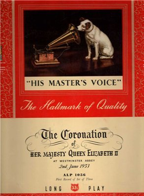 THE CORONATION OF HER MAJESTY QUEEN ELIZABETH II THIRD RECORD FROM SET OF THREE VINYL LP 2ND JUNE 1953 Queen Elizabeth 1953
