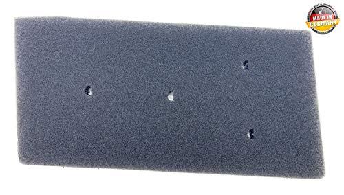 100 Whirlpool (Original Filter für Bauknecht Privileg Whirlpool HX 481010716911 Trockner Wärmepumpentrockner | Fein-Grob | 230 x 115 x 14mm | Schwammfilter Filtermatte Kondenstrockner | 100% Made in Germany Sponge)