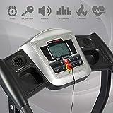 Ultrasport motorisches Laufband LB 150-Sport, elektrisch – Hometrainer mit 2-fach Dämpfungssystem, klappbar für zuhause – Geschwindigkeitsbereich 1,0 bis 16 km/h, 1,500 W Leistung, belastbar bis 110 kg - 7