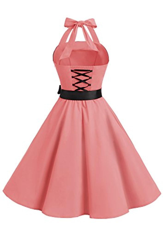 1fec1bcd378 ... Vintage Année 40 50 60 Robe de Cocktail Rockabilly Décolleté 10212Coral  M. Shopping Vêtements Femme · Robes  Timormode. Promo. Tap to expand · Tap  to ...