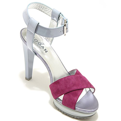 7087F sandalo HOGAN OPTY H 226 scarpa donna shoes women lilla/viola