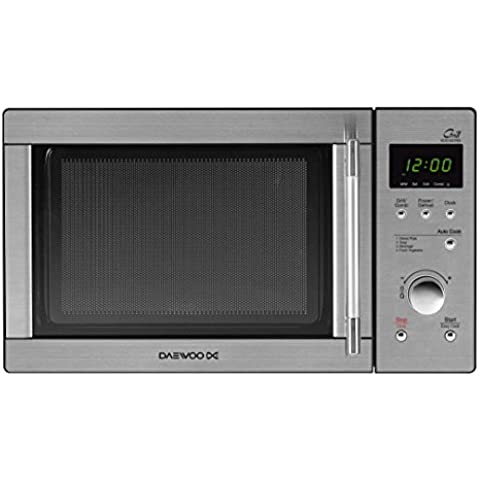 Daewoo KOG-837RS - Microondas, 23 litros, con grill, inoxidable